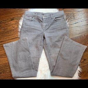 EUC Davis Khan Gray Bootcut Jeans